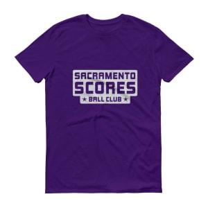 Sacramento Scores Short-Sleeve T-Shirt