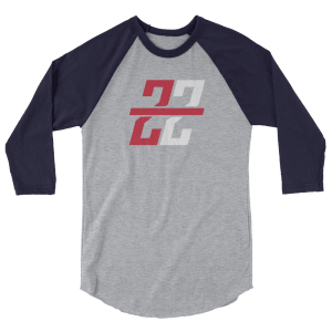 Zona Zealots 3/4 sleeve raglan shirt