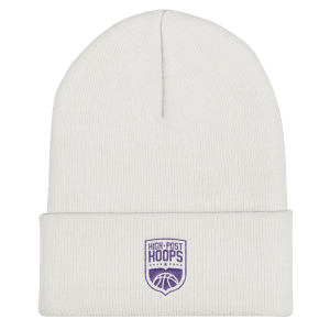 High Post Hoops Cuffed Beanie