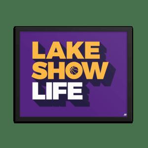 Lake Show Life Premium Matte Framed Poster