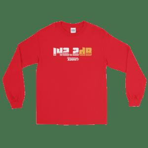 142.2dB Arrowhead Addict Long Sleeve T-Shirt
