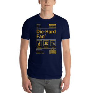 Notre Dame Die-Hard Fan Short-Sleeve T-Shirt