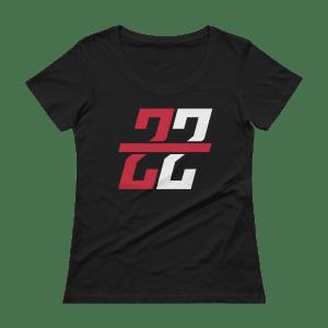 Women's Zona Zealots Scoopneck T-Shirt