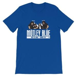 Motley Blue Short-Sleeve Unisex T-Shirt