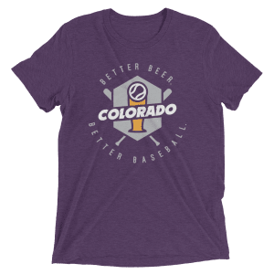 Colorado Baseball Short Sleeve T-Shirt