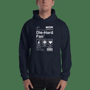 New York Baseball Die-Hard Fan Hooded Sweatshirt