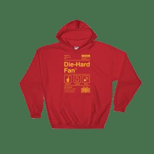 Kansas City Football Die-Hard Fan Hooded Sweatshirt