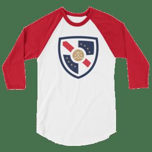 The Rat Trick 3/4 sleeve raglan shirt