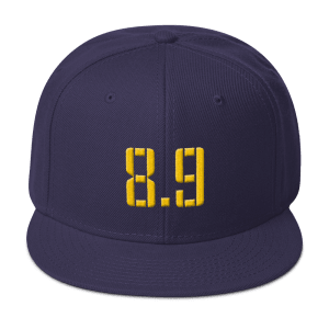 8 Points, 9 Seconds Snapback Hat