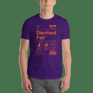 Clemson Die-Hard Fan Short-Sleeve T-Shirt