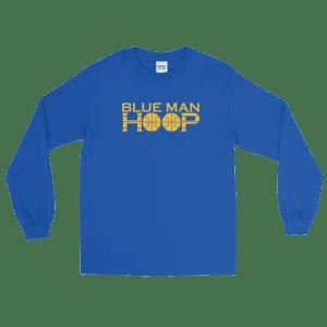 Blue Man Hoop Sleeve T-Shirt