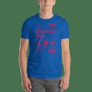 Philadelphia Basketball Die-Hard Fan Short-Sleeve T-Shirt