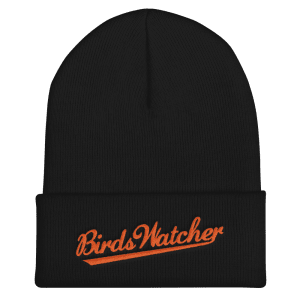 Birds Watcher Cuffed Beanie