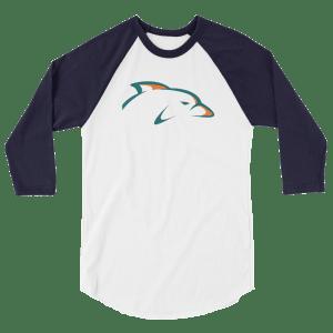 Phin Phanatic 3/4 sleeve raglan shirt