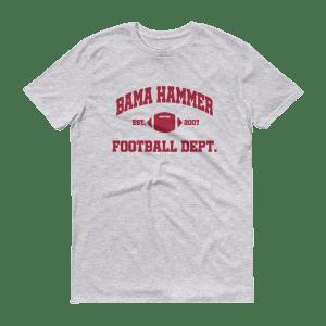 Bama Hammer Football Dept. Men's Short-Sleeve T-Shirt