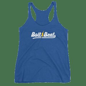 Bolt Beat Women's Racerback Tank