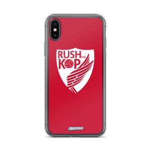 Rush The Kop iPhone Case