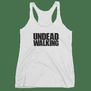 Women's Undead Walking Racerback Tank