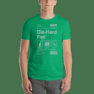 Philadelphia Football Die-Hard Fan Short-Sleeve T-Shirt