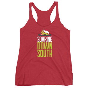 Women's Soaring Down South Racerback Tank