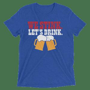Let's Drink Short Sleeve T-Shirt