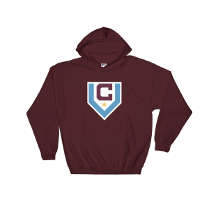 Claret Villa Hooded Sweatshirt
