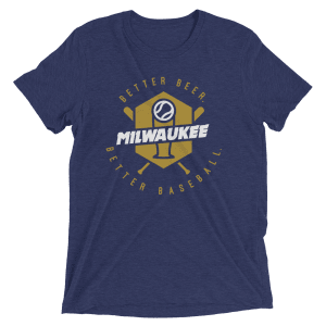 Milwaukee Baseball Short Sleeve T-Shirt
