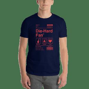 Boston Baseball Die-Hard Fan Short-Sleeve T-Shirt