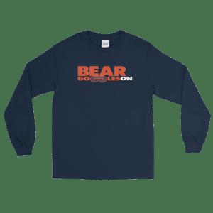 Bear Goggles On Long Sleeve T-Shirt