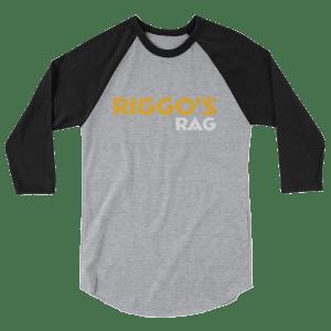Riggo's Rag 3/4 sleeve raglan shirt