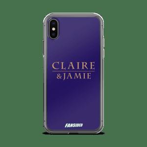 Claire & Jamie iPhone Case
