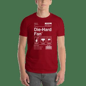 Alabama Football Die-Hard Fan Short-Sleeve T-Shirt