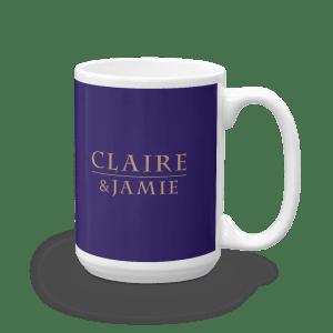Claire & Jamie Mug