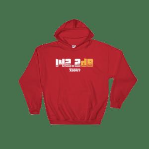 142.2dB Arrowhead Addict Hooded Sweatshirt