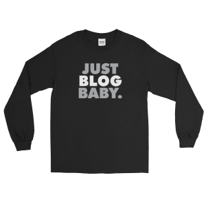 Just Blog Baby Long Sleeve T-Shirt