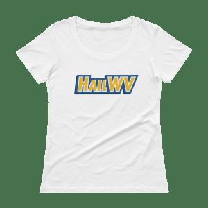 Women's Hail WV Scoopneck T-Shirt