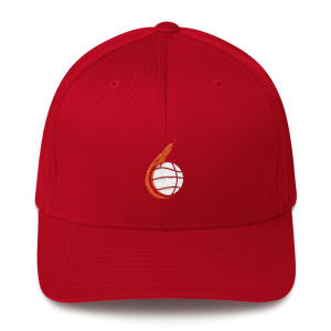 Space City Scoop Structured Twill Cap