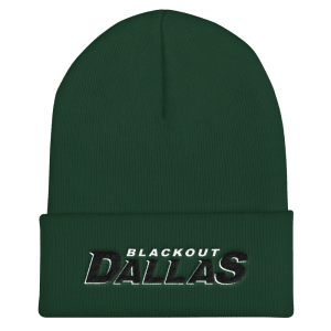 Blackout Dallas Cuffed Beanie