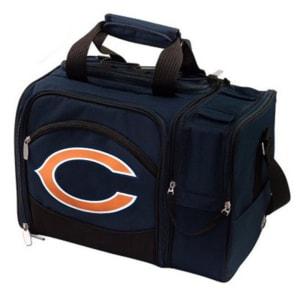 Chicago Bears Malibu Picnic Cooler Tote - Navy Blue