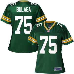 NFL Pro Line Women's Green Bay Packers Bryan Bulaga Team Color Jersey