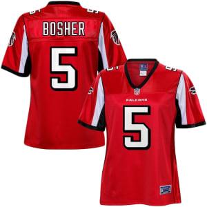 Matt Bosher Atlanta Falcons NFL Pro Line Women's Team Color Jersey - Red