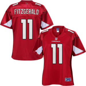 NFL Pro Line Women's Arizona Cardinals Larry Fitzgerald Team Color Jersey