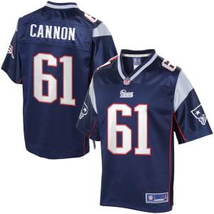 NFL Pro Line Men's New England Patriots Marcus Cannon Team Color Jersey