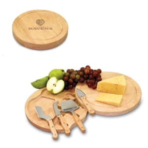 Baltimore Ravens Circo Cheese Board & Tool Set