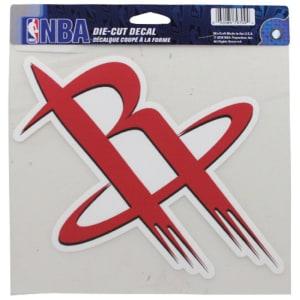 Houston Rockets 8'' x 8'' Color Die-Cut Decal