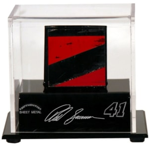 Reed Sorenson Fanatics Authentic Display Case with Race-Used Sheet Metal