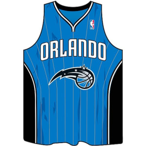Pure Orange Orlando Magic Jersey Mousepad