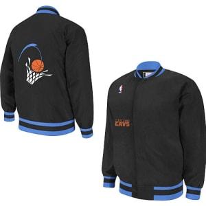 Mitchell & Ness Cleveland Cavaliers Hardwood Classics Authentic Warm-Up Jacket
