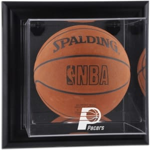 Indiana Pacers Fanatics Authentic (2005-2017) Black Framed Wall-Mounted Team Logo Basketball Display Case