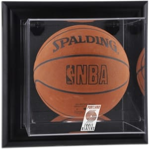 Portland Trail Blazers Fanatics Authentic (2004-2017) Black Framed Wall-Mounted Team Logo Basketball Display Case